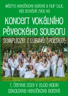 Koncert vokálního dětského souboru Semplicze z Lubině 2