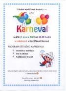 Dětský karneval 2. 2 .2020 1