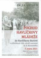 Pochod Havlíčkovy mládeže 7. 8. 2021 PO 32 LETECH 1