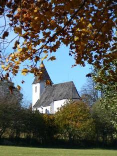 Podzimní kostel