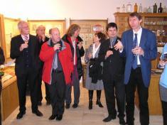 Návštěva delegace k výročí Karla Havlíčka Borovského